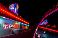 66 Diner, Central Avenue (Historic Route 66), Albuquerque, New Mexico USA.