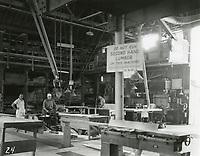 1935 Lumber shop at Columbia Studios