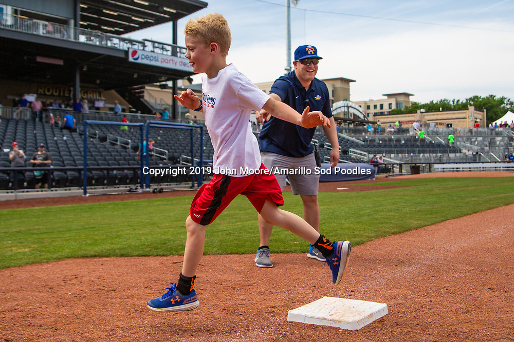 The Amarillo Sod Poodles played against the Arkansas Travelers on Sunday, May 5, 2019, at HODGETOWN in Amarillo, Texas. [Photo by John Moore/Amarillo Sod Poodles]
