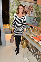 NATALIE PINKHAM at the launch of the new J&M Davidson flagship shop at 104 Mount Street, London on 3rd February 2016.