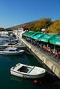 Waterside cafes, Trogir, Croatia