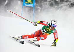 Bjoernar Neteland of Norway competes during 1st run of Men's GiantSlalom race of FIS Alpine Ski World Cup 57th Vitranc Cup 2018, on March 3, 2018 in Kranjska Gora, Slovenia. Photo by Ziga Zupan / Sportida