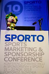 Lipko at sports marketing and sponsorship conference Sporto 2013, on November 21, 2013 in Hotel Slovenija, Congress centre, Portoroz / Portorose, Slovenia. Photo by Vid Ponikvar / Sportida