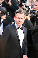 Ewan McGregor at the On The Road gala screening red carpet at the 65th Cannes Film Festival France. The film is based on the book of the same name by beat writer Jack Kerouak and directed by Walter Salles. Wednesday 23rd May 2012 in Cannes Film Festival, France.