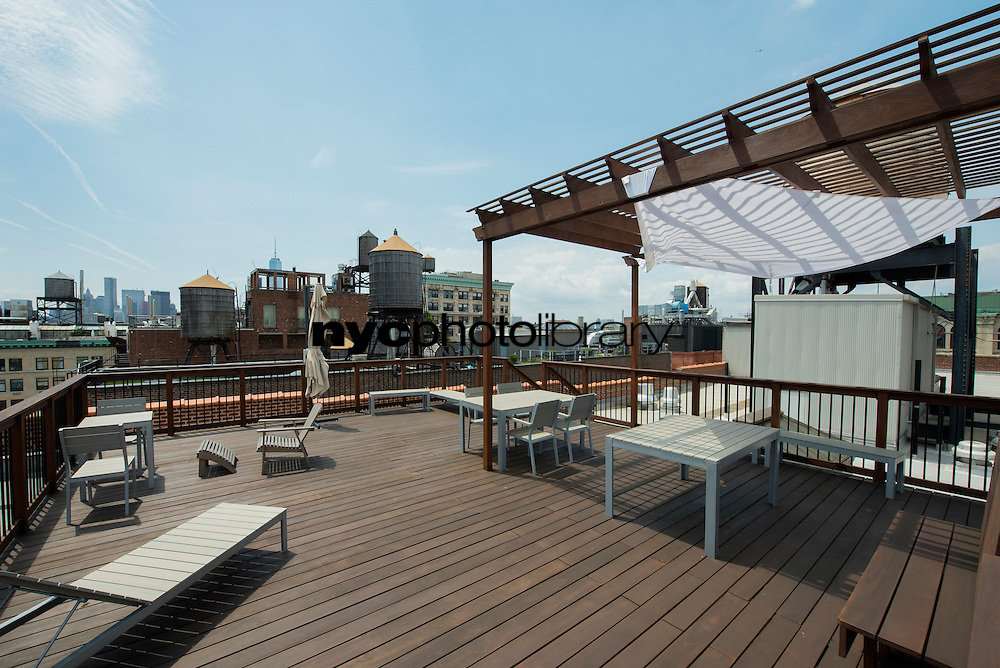 Roof Deck at 718 Broadway