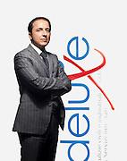 Giorgio Ferraresi, proprietario di Deluxe, impresa di pulizie.