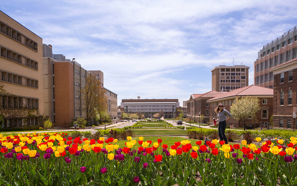 University of Wisconsin-Madison campus May 1, 2015. (Photo © Andy Manis)
