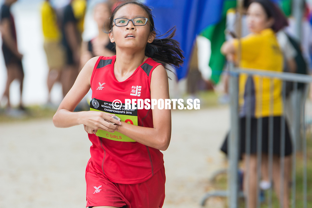Runner finishing the race.