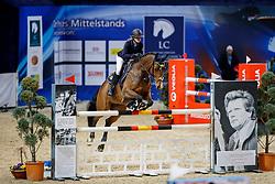 ZANDER-KEIL Johanna (GER), Lord Lucie<br /> Braunschweig - Löwenclassics 2018<br /> HGW-Bundesnachwuchschampionat Stilspringen Klasse M<br /> © www.sportfotos-lafrentz.de/Stefan Lafrentz