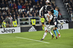 May 19, 2019 - Turin, Turin, Italy - Cristiano Ronaldo, \23\ of Juventus FC and Timothy Castagne,  of Atalanta BC during the Serie A match at Allianz Stadium, Turin (Credit Image: © Antonio Polia/Pacific Press via ZUMA Wire)