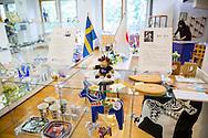 """På stiftelsen Sweden Center Foundation som driver Sweden Hills arrangeras utställningar med fokus på olika svenska städer. Just nu är det Göteborg som visas upp. """"Vi ville visa upp ett område nära havet i Sverige så varför inte Göteborg, tänkte vi"""", säger Miki Wajima på stiftelsen."""