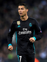 Real Madrid's Cristiano Ronaldo during the UEFA Champions League, Group H match at Wembley Stadium, London. PRESS ASSOCIATION Photo. Picture date: Wednesday November 1, 2017. See PA story SOCCER Tottenham. Photo credit should read: Mike Egerton/PA Wire