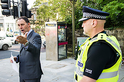 """Pictured: Detective Inspector Donnie MacLeod and Inspector Graeme Nisbet<br /> <br /> Police in Edinburgh have launched a fresh appeal for information following an indecent assault over the weekend.<br /> <br /> A 19-year-old woman was attacked in Salisbury Place as she was walking home at around 2.50 a.m. on Sunday 2nd October.<br /> <br /> The victim fought the suspect off, who then made off towards Minto Street and inquiries to trace this male are continuing.<br /> <br /> He is described as white, early thirties, 6ft tall with a large build and dark hair. He was wearing a red kilt, calf-high boots and a dark hooded top with numbers on the front.<br /> <br /> Following information from the public, detectives have established that the male visited the Marchmont Takeaway on Marchmont Road sometime between 7 p.m. and 9 p.m. on Saturday 1st October and anyone else who believes they may have information that can help identify him is urged to come forward.<br /> <br /> It has also been confirmed that the male walked from the city centre southwards along Newington Road, towards Salisbury Place.<br /> <br /> Detective Inspector Donnie MacLeod from the Public Protection Unit at Fettes said: """"Since the attack took place we have been conducting various inquiries in and around Salisbury Place to trace witnesses and establish the movements of the suspect before and after the incident.<br /> <br /> """"We are now satisfied that he was within the Marchmont area on Saturday evening before carrying out the attack, during which time he walked towards Salisbury Place from the direction of the city centre. <br /> <br /> """"I would ask anyone who believes they may have seen this individual on Saturday night, or the early hours of Sunday morning, or who knows where we can find him should contact police immediately.<br /> <br /> """"In addition, anyone with any further information relevant to this investigation is also asked to get in touch.""""<br /> <br /> Police have also increased patrols with"""