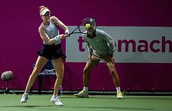 PORTOROZ, SLOVENIA - SEPTEMBER 19: Alison Riske of USA playing Singles final during the WTA 250 Zavarovalnica Sava Portoroz at SRC Marina, on September 19, 2021 in Portoroz / Portorose, Slovenia. Photo by Vid Ponikvar / Sportida