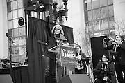 GLORIA STEINEM, Womens's March on  Washington DC. 21 January 2017
