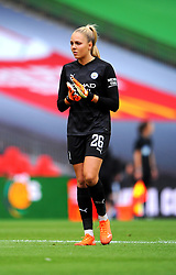 Ellie Roebuck of Manchester City Women- Mandatory by-line: Nizaam Jones/JMP - 29/08/2020 - FOOTBALL - Wembley Stadium - London, England - Chelsea v Manchester City - FA Women's Community Shield