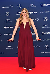 February 18, 2019 - Monaco, Monaco - Missy Franklin arriving at the 2019 Laureus World Sports Awards on February 18, 2019 in Monaco  (Credit Image: © Famous/Ace Pictures via ZUMA Press)