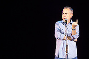 Jeremy Hardy. The Peoples Assembly  presents: Stand Up Against Austerity. Live at the Hammersmith Apollo. London.