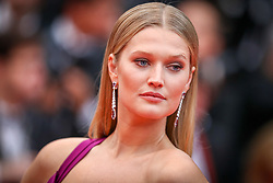 """Toni Garrn attends the screening of """"Les Plus Belles Annees D'Une Vie"""" during the 72nd annual Cannes Film Festival on May 18, 2019 in Cannes, France. Photo by Shootpix/ABACAPRESS.COM"""