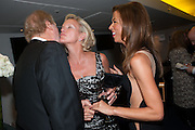 ED VICTOR; ELIZABETH MURDOCH; HEATHER KERZNER; , 2012 GQ Men of the Year Awards,  Royal Opera House. Covent Garden, London.  3 September 2012