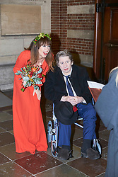 EXCLUSIVE: Pogues singer, Shane MacGowan gets married to Victoria Mary Clarke at Copenhagen City Hall. Johnny Depp was one of the guest at the wedding in Denmark. 26 Nov 2018 Pictured: Shane MacGowan, Victoria Mary Clarke. Photo credit: Aller/MEGA TheMegaAgency.com +1 888 505 6342