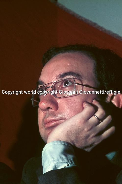 Carlo Tognoli<br />world copyright Giovanni Giovannetti/effigie / Writer Pictures<br /> <br /> NO ITALY, NO AGENCY SALES / Writer Pictures<br /> <br /> NO ITALY, NO AGENCY SALES