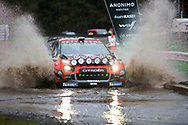 Esapekka Lappi(FIN)and Co/Driver Janne(FIN)Citroen C3 WRCv during the Wales Rally GB at Oulton Park, Budworth, Cheshire, United Kingdom on 3 October 2019.