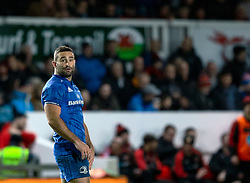 Dave Kearney of Leinster<br /> <br /> Photographer Simon King/Replay Images<br /> <br /> Guinness PRO14 Round 10 - Dragons v Leinster - Saturday 1st December 2018 - Rodney Parade - Newport<br /> <br /> World Copyright © Replay Images . All rights reserved. info@replayimages.co.uk - http://replayimages.co.uk