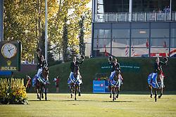 Team Brazil, Veniss Pedro, Amaral Felipe, Menezes Eduardo, Pessoa Rodrigo, (BRA)<br /> BMO Nations Cup<br /> Spruce Meadows Masters - Calgary 2015<br /> © Hippo Foto - Dirk Caremans<br /> 13/09/15