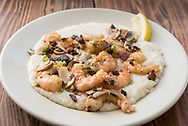 Shrimp and Grits at Hominty Grill.