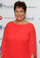 Denise Welch, The Mind Media Awards 2016, The Troxy, London UK, 14 November 2016, Photo by Brett D. Cove