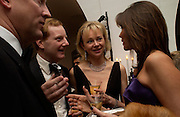 The Earl and Countess of Derby and Countess Debonaire von Bismarck. Dinner to unveil the Van Cleef & Arpels jewellery collection 'Couture' with fashion by Anouska Hempel Couture. The Banqueting House, Whitehall Palace, London on 8th March 2005.ONE TIME USE ONLY - DO NOT ARCHIVE  © Copyright Photograph by Dafydd Jones 66 Stockwell Park Rd. London SW9 0DA Tel 020 7733 0108 www.dafjones.com