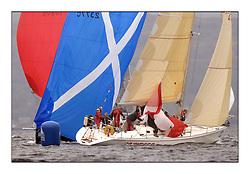 Brewin Dolphin Scottish Series 2011, Tarbert Loch Fyne - Yachting - Day 1 of the 4 day series..GBRSunrise - Scott Chambers..