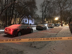 February 4, 2018 - Chicago, IL, USA - Three people were shot on Sunday, Feb. 4, 2018 in the 11700 block of South Sangamon Street in Chicago, Ill. (Credit Image: © Madeline Buckley/TNS via ZUMA Wire)