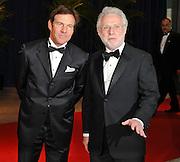 Dennis Quaid and Wolf Blitzer