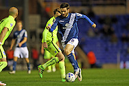 Birmingham City midfielder Jon Toral (20) during the Sky Bet Championship match between Birmingham City and Brighton and Hove Albion at St Andrews, Birmingham, England on 5 April 2016.