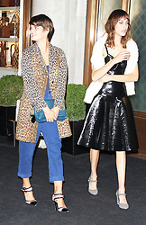 © Licensed to London News Pictures. 14/09/2013. LONDON. UK. Pixie Geldof & Alexa Chung, Longchamp - Flagship Store Launch Party, Regent Street, London UK, 14 September 2013. Photo credit : Brett D. Cove/Piqtured/LNP