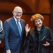 NLD/Amsterdam/20180203 - 80ste Verjaardag Pr.Beatrix, aankomst Margriet Francisca, Prinses der Nederlanden en partner Pieter van Vollenhoven