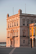 Praca do Comercio, Commercial Square, a popular meeting point and toursit spot in Lisbon, Portugal