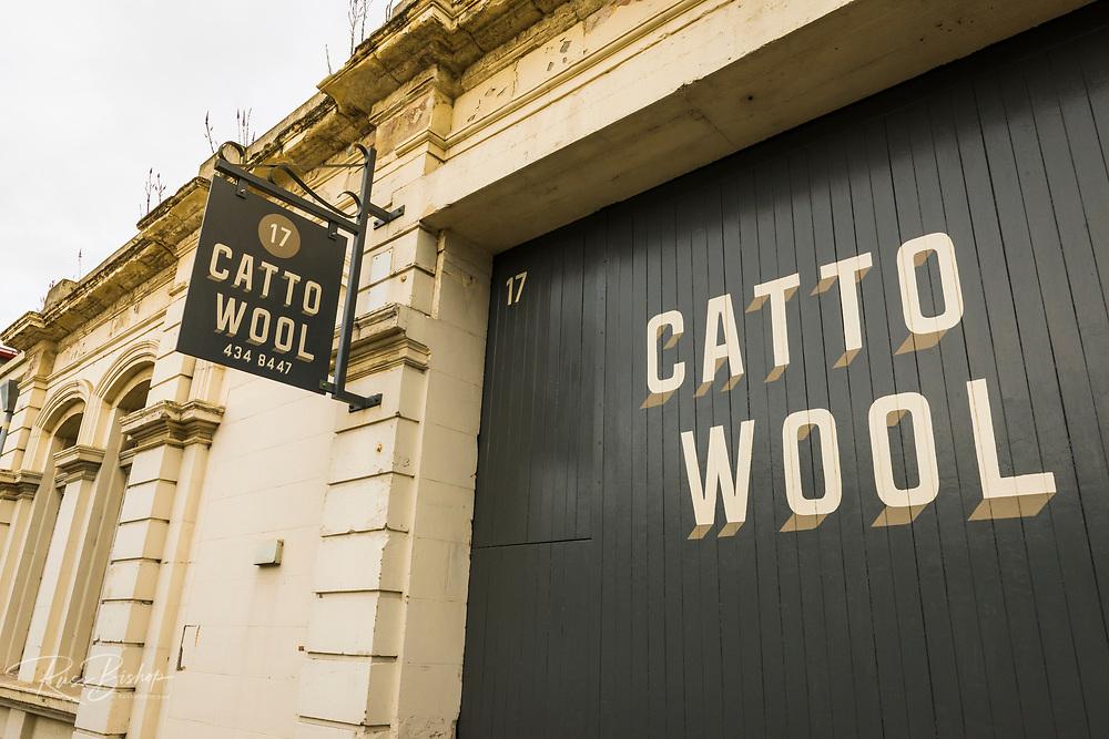 Catto Wool shop, Oamaru, Otago, South Island, New Zealand