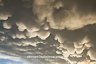 63891-02408 Mammatus clouds after storm,  Marion Co. IL
