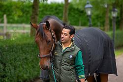 At home with Kamal Bahamdan, KSA<br /> Tops Stables - Valkenswaard 2012<br /> © Dirk Caremans