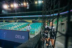 Players of Vipers Kristiansand seen before handball match between RK Krim Mercator (SLO) and Vipers Kristiansand (NOR), on September 12, 2020 in Arena Stožice, Ljubljana, Slovenia. Photo by Sinisa Kanizaj / Sportida