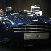 London,England, UK : 5th May 2016 : DB9 showcases at London Motor Show at Battersea Evolution over four days, with an exclusive preview in London. Photo by See Li