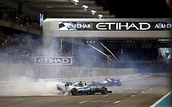 November 26, 2017 - Abu Dhabi, United Arab Emirates - Motorsports: FIA Formula One World Championship 2017, Grand Prix of Abu Dhabi, .#77 Valtteri Bottas (FIN, Mercedes AMG Petronas F1 Team) (Credit Image: © Hoch Zwei via ZUMA Wire)
