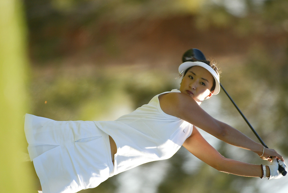 Grace Park..LPGA Welch's Fry's Championship.Final Round.Dell Urich Course at Randolph Park.Tucson, AZ.Sunday, March 14 2004..photograph by Darren Carroll