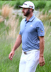 May 19, 2019 - Farmingdale, NY, U.S. - FARMINGDALE, NY - MAY 19: Dustin Johnson of the United States is pictured during the Final Round of the 2019 PGA Championship, on the Black Course, Bethpage State Park, in Farmingdale, NY. (Photo by Joshua Sarner/Icon Sportswire) (Credit Image: © Joshua Sarner/Icon SMI via ZUMA Press)