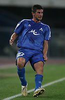 Fotball<br /> Foto: Inside/Digitalsport<br /> NORWAY ONLY<br /> <br /> Verona 23/8/2006 <br /> Champions League 3rd round qualifying<br /> Chievo Verona v Levski Sofia 3-3<br /> <br /> Cedric BARDON Levski
