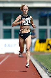 08-07-2006 ATLETIEK: NK BAAN: AMSTERDAM<br /> Op de 5000 meter vrouwen won Anita Giusti-Looper met overmacht in 16.08,02<br /> ©2006-WWW.FOTOHOOGENDOORN.NL