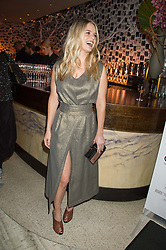 ALICE EVE at a party to celebrate the 10th anniversary of Nobu Berkeley Street held on 5th November 2015.